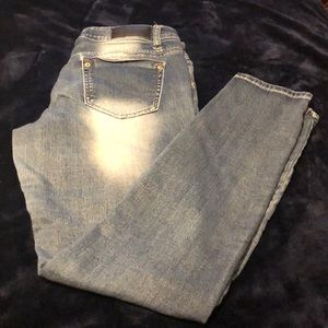 ❤️Size 9/10 patchwork jeans